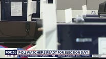 Poll watchers ready for Election Day