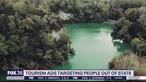 Tourism ads targeting people out of state
