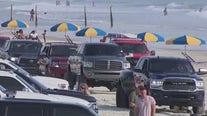 Police patrol Trucktoberfest in Daytona Beach