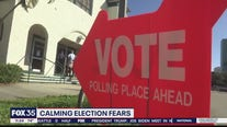 Calming election fears