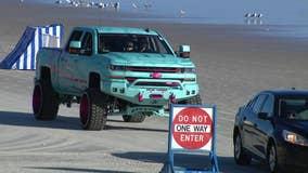 Law enforcement patrols Trucktoberfest in Daytona Beach