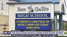 Eau Gallie H.S. closed after COVID-19 spike