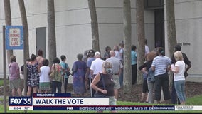 'Walk the Vote' encouraging Central Florida residents to head to the polls