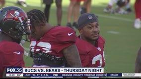 Bucs take on the Bears Thursday night