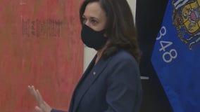 Senator Kamala Harris back on the campaign trail