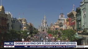 Union workers at Walt Disney World receive layoff notices