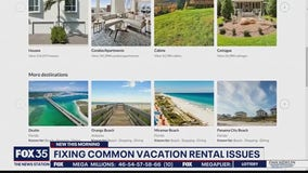 Fixing common vacation rental issues