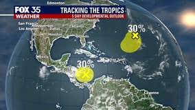 Tropics Update: October 16, 2020