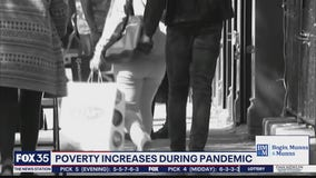 Poverty spikes as result of pandemic