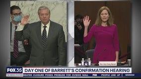 Senate panel schedules 1st Barrett vote Thursday