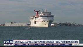 Carnival cancels November cruises