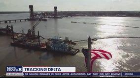 Powerful Hurricane Delta targeting Louisiana for landfall