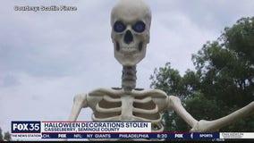Halloween decoration stolen