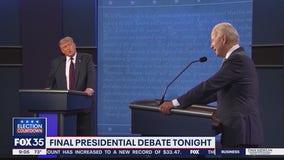 Final presidential debate tonight