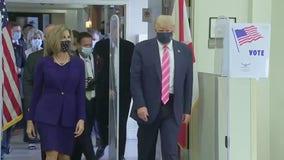 President Trump casts ballot in Florida