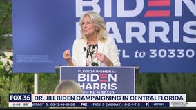 Dr. Jill Biden campaigning in Florida