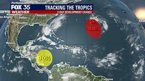Tropics Update: October 17, 2020