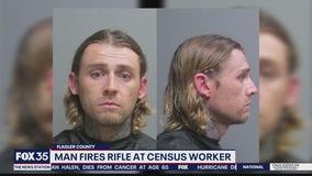 Deputies say man threatened census worker with gun