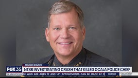NTSB investigating plane crash that killed Ocala police chief