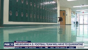Melbourne football team will have to quarantine