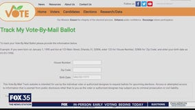 Orange County's election website goes down