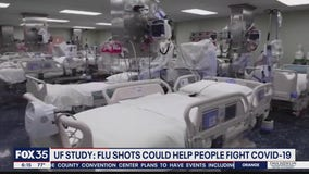 Flu vaccine could boost protection from COVID-19 symptoms