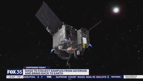 NASA to collect samples from asteroid and bring back to Earth