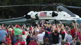 President Trump holds campaign rally in The Villages