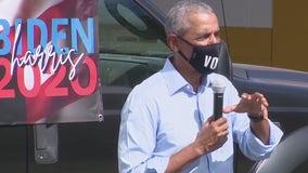 President Obama surprises campaign volunteers in Orlando