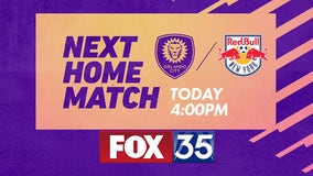 Orlando City takes on New York Red Bulls