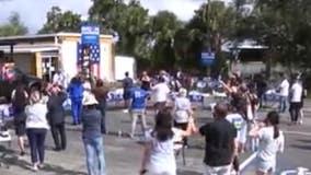 Former President Obama campaigns for Biden, Harris in Orlando