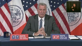 NYC mayor warns of bleak days ahead with coronavirus outbreak
