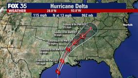 Hurricane Delta expected to hit Louisiana coast as Category 2 storm on Friday
