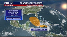 Higher chance for tropical development close to Florida this weekend