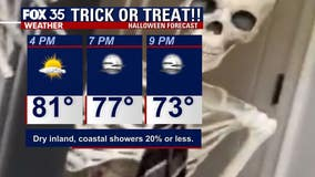 Spooktacular weather for Central Florida before cool front moves in