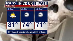 What a treat! Comfortable weather in store for Central Florida on Halloween