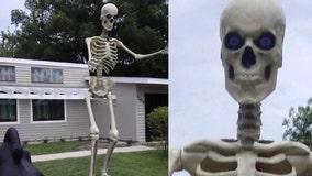 Casselberry teacher wants stolen, 12-foot tall Halloween decoration returned