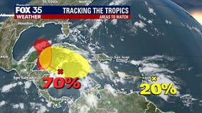 'Gamma' on deck: Tropical system brewing in the Caribbean