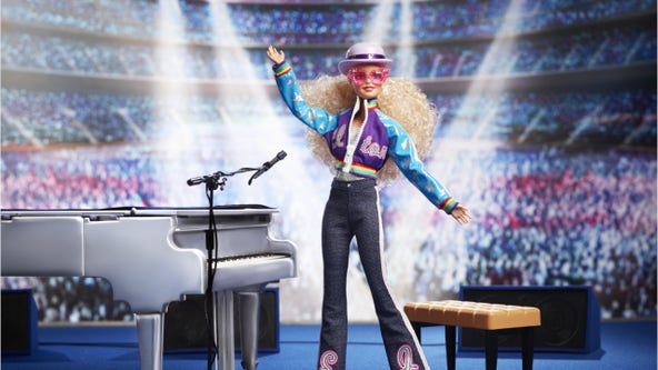 Elton John Barbie: Mattel releases limited-edition doll