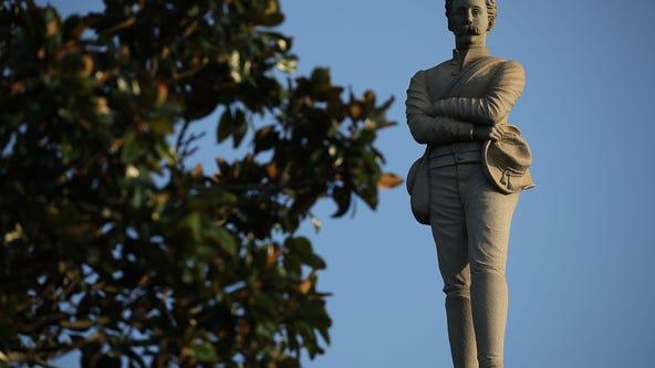 Florida city begins removing Confederate monument