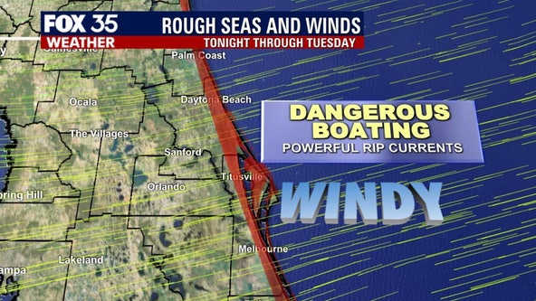 Rough seas, winds make for dangerous beach weekend