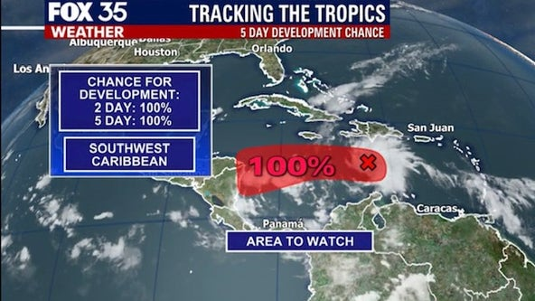 Tropical wave in Caribbean could develop into next named storm
