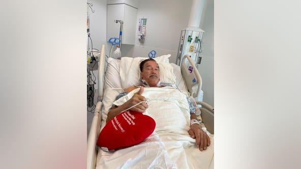 Schwarzenegger 'feeling fantastic' after undergoing heart surgery