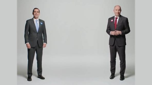 Opponents in Utah governor's race appear in joint ads calling for civility
