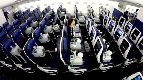 New landmark study tests air on planes for virus transmission