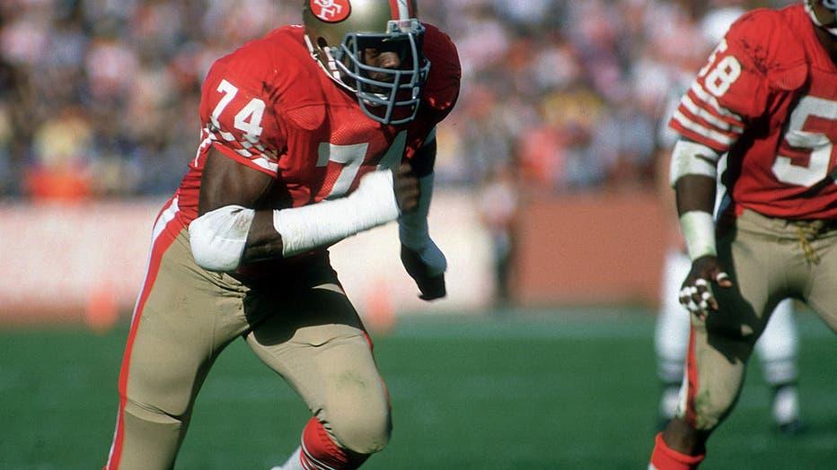 Tampa Bay Bucaneers at San Francisco 49ers - November 25, 1984