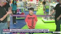 David Martin Reports: Crayola Experience shopping spree