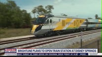 Brightline plans to open train station at Disney Springs