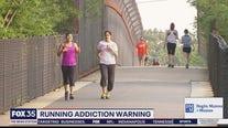 Running addiction warning