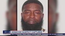 Homicide suspect captured